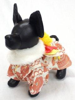 愛犬用華やか着物 毬 お祝い事や年末年始のご挨拶などに 戌年 20201231
