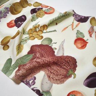 正絹長襦袢地 「岡重」野菜と果実 果物