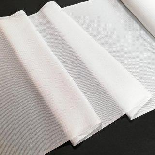 【夏用】洗える正絹長襦袢地 絽 駒絽 ウォッシャブルシルク 白 上質絹