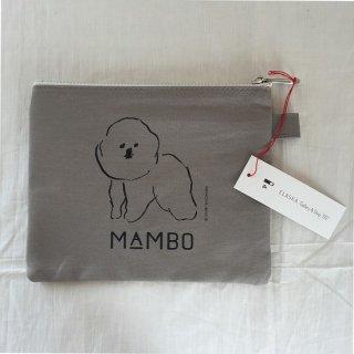 CLASKA MAMBO ポーチ(グレー)