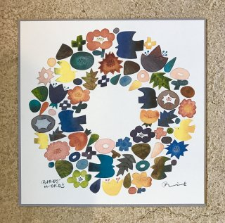BIRDS' WORDS POSTER (WREATH) ポスターのみ