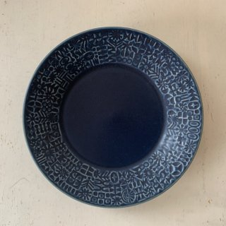 BIRDS' WORDS PATTERNED PLATE