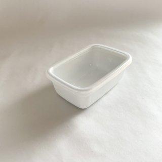野田琺瑯 white seriese レクタングル深型 S