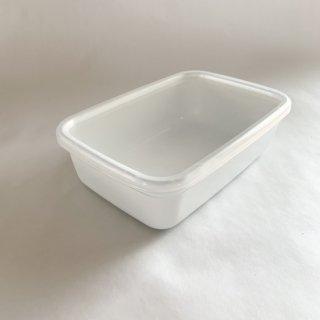 野田琺瑯 white sereise レクタングル深型 L