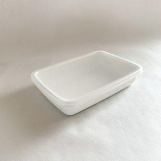野田琺瑯 white sereise レクタングル浅型 S