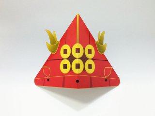 真田幸村かぶと(10個セット) ※型抜き加工済