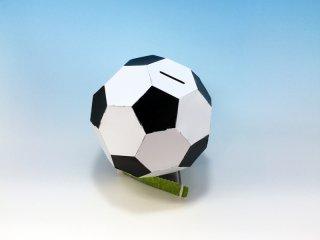 サッカーボール貯金箱