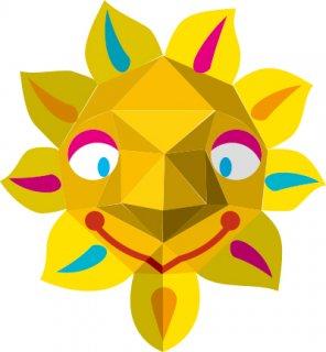 太陽(おめん)