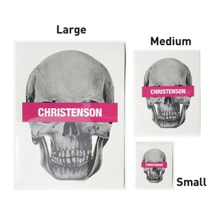 [CHRISTENSON SURFBOARDS/クリステンソン]Skull Sticker L<img class='new_mark_img2' src='https://img.shop-pro.jp/img/new/icons7.gif' style='border:none;display:inline;margin:0px;padding:0px;width:auto;' />
