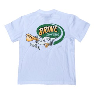 BRINE x HOLIDAY PAINT Tee/White<img class='new_mark_img2' src='https://img.shop-pro.jp/img/new/icons7.gif' style='border:none;display:inline;margin:0px;padding:0px;width:auto;' />
