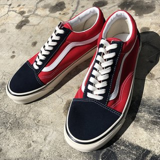 [VANS]Old Skool 36 Dx Navy/ Red ANAHEIM FACTORY<img class='new_mark_img2' src='https://img.shop-pro.jp/img/new/icons7.gif' style='border:none;display:inline;margin:0px;padding:0px;width:auto;' />