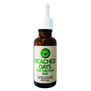 [BEACHED DAYS]CBD Tincture 1000<img class='new_mark_img2' src='https://img.shop-pro.jp/img/new/icons7.gif' style='border:none;display:inline;margin:0px;padding:0px;width:auto;' />