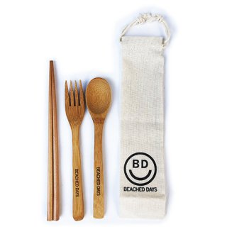 [BEACHED DAYS]Cutlery Set <img class='new_mark_img2' src='https://img.shop-pro.jp/img/new/icons7.gif' style='border:none;display:inline;margin:0px;padding:0px;width:auto;' />