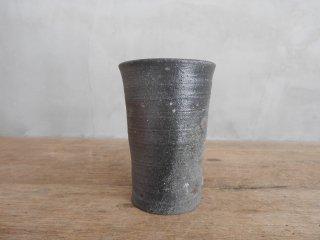 24 焼締 筒カップ(在庫1点のみ) / 府川和泉