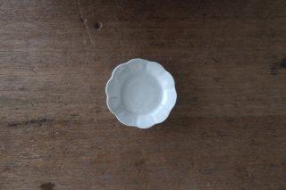 12 白瓷 花型豆皿(在庫5点のみ) / 山本亮平