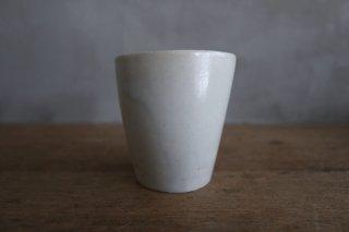 08 白瓷 立カップ(在庫6点のみ) / タナカシゲオ