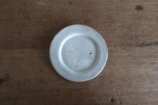 10 白瓷 リム小皿 A(在庫5点のみ) / タナカシゲオ
