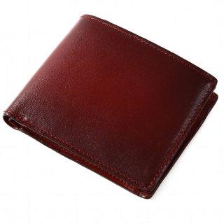 Raffaello 一流の革職人が作る 古代ローマの貴族が愛した革を手作業で染色したスマート仕様のメンズ二つ折財布