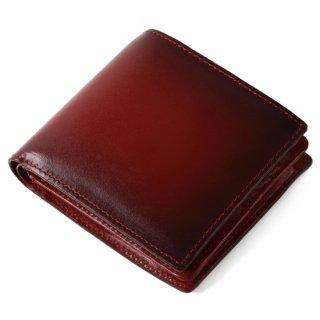 Raffaello 一流の革職人が作る 古代ローマの貴族が愛した革を手作業で染色したメンズ二つ折財布