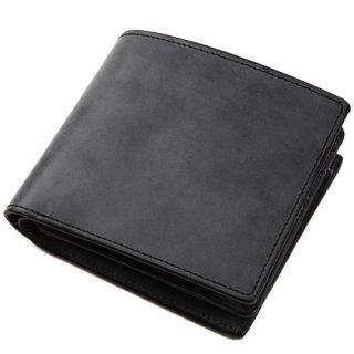 Raffaello 一流の革職人が作る 英国王室が愛するブライドルレザーで表裏をフル仕立てた贅沢な2way二つ折り財布