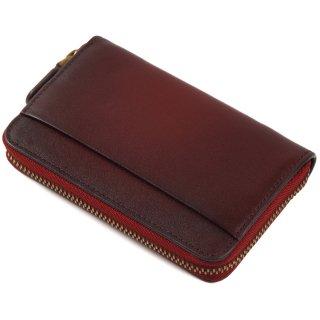 Raffaello 一流の革職人が作る 古代ローマの貴族が愛した革を手作業で染色した極小財布