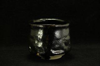 澤克典 瀬戸黒旅茶碗 [Seto-Guro Tabi-Chawan  by katsunori SAWA]