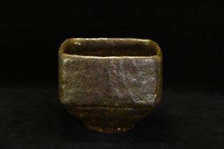 柳下季器 カセ黒茶碗 [ Kase-Guro Chawan  by hideki YANASHITA]