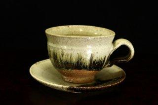 藤ノ木陽太郎 朝鮮唐津コーヒーカップ  [Chousen Karatsu  Coffee cup]