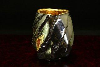 市川透 Beer Liberalism-Diamond Black [ Beer cup by Toru Ichikawa]