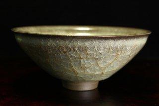 藤田直樹 米色瓷茶碗 [ Beishokuji Chawan  by Naoki Fujita ]