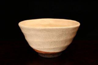 柳下季器 白茶碗 [ Shiro Chawan by  Hideki Yanashita]