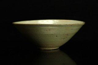 【図録掲載作品】柳下季器 紛青青磁茶碗 [ Funsei Seiji  Chawan by Hideki Yanashita ]