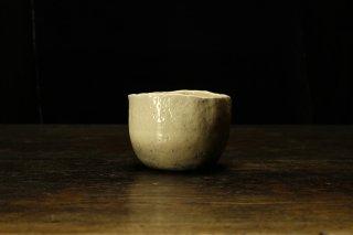 【図録掲載作品】柳下季器 白茶碗 [ Shiro  Chawan by Hideki Yanashita ]