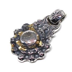 BillWallLeather  BWL  ビルウォールレザー  ペンダント《送料無料》Sun Medallion Pendant w/ Providence eye & Trei