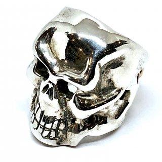 TRAVIS WALKER TW トラヴィスワーカー リング《送料無料》O.G Skull Ring w/20th PLAQUE 18k RG LTD.20