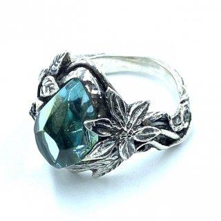 LYLY ERLANDSON リリーエルランドソン 正規代理店 リング《送料無料》the ARIA Ring 【aqua blue】