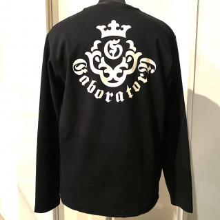 Gaboratory ガボラトリー 正規代理店 Gabor ガボール  Tシャツ《送料無料》�Long Sleeve T-Shirt Black《サイズM》