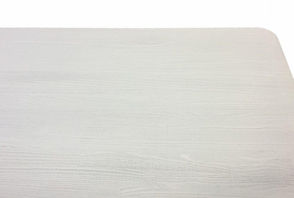 木製レジカウンター・受付カウンター_バック置付_幅150cm×奥行58cm×高さ92cm_アンティークホワイト_UN819AWH