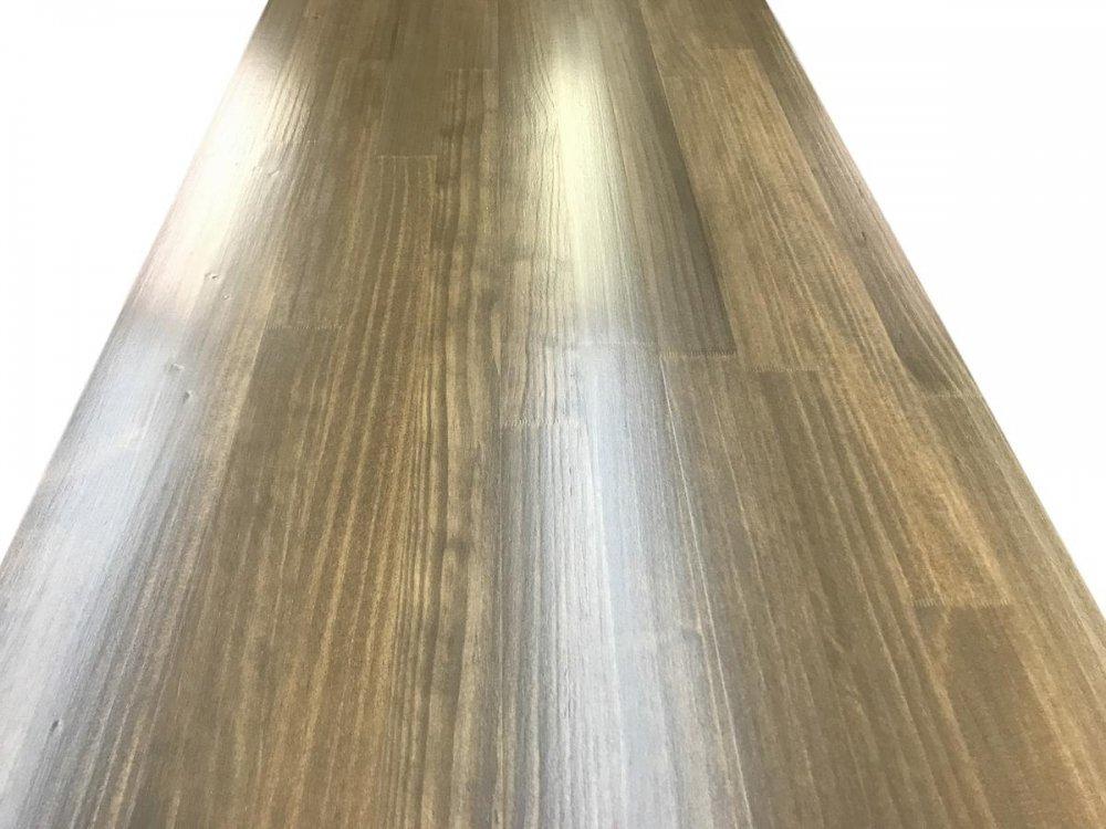 木製レジカウンター・受付カウンター_バック置付_幅150cm×奥行58cm×高さ92cm_オーク(ニス仕上げ)_UN819OK