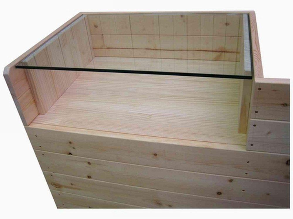 木製ショーケース_レジカウンター_レジ台_幅120cm×奥行45cm×高さ90cm_無塗装_UN874N
