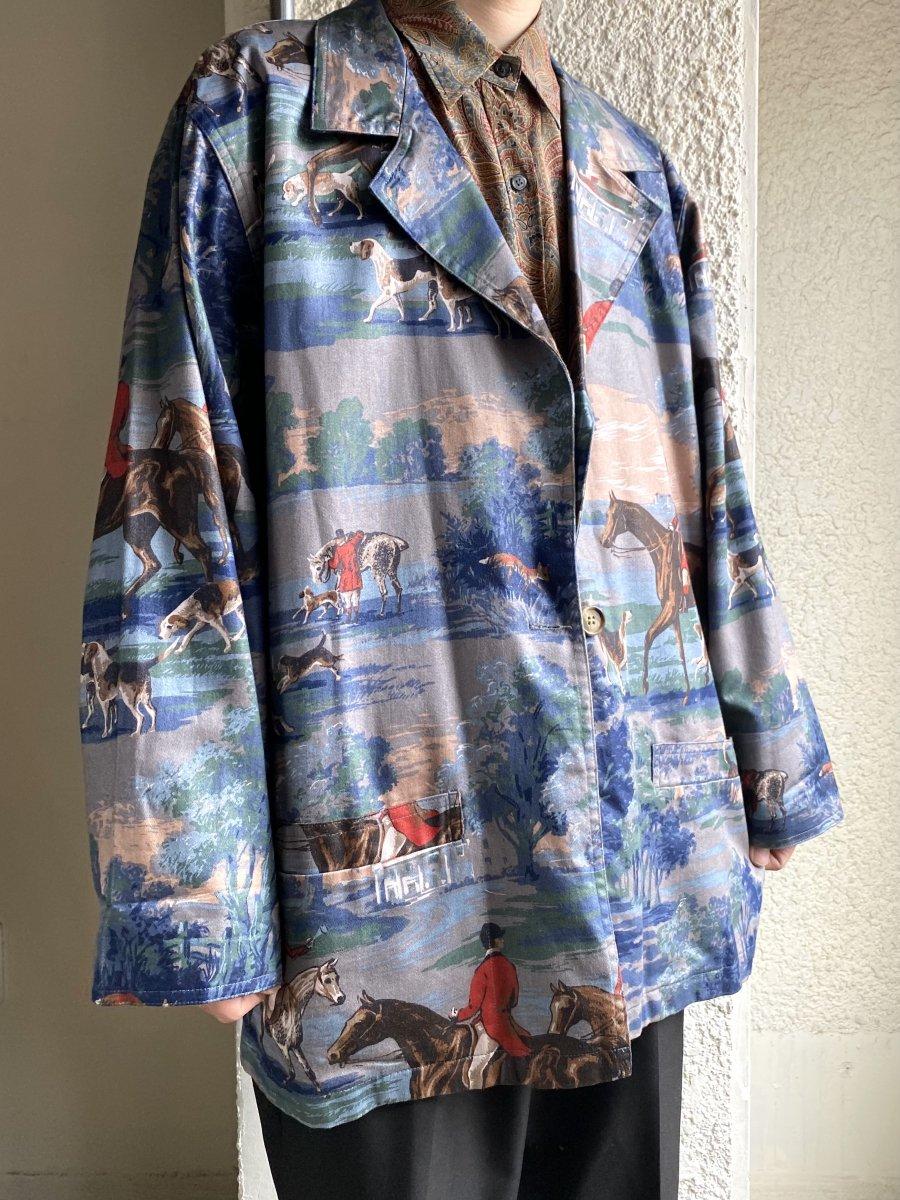 heavy cotton tailored JKT