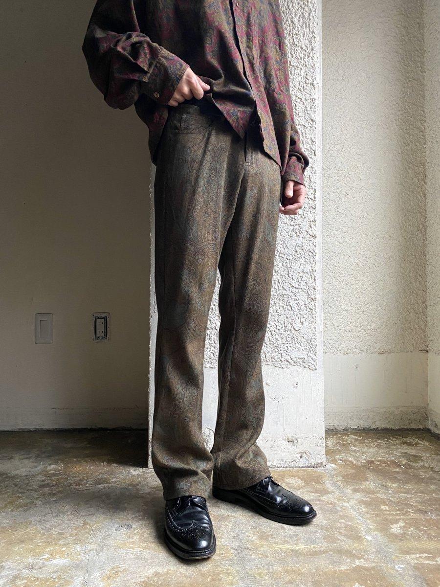 Ralph Lauren PAISLEY PANTS