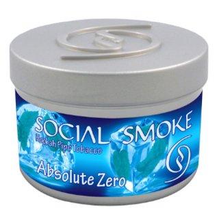 Social Smoke ソーシャルスモーク アブソリュート・ゼロ 50g