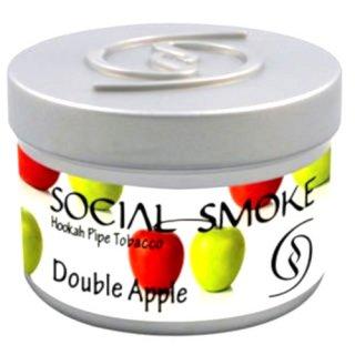 Social Smoke ソーシャルスモーク ダブルアップル 50g