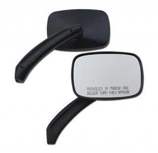 Rectangular Mirrors, Black