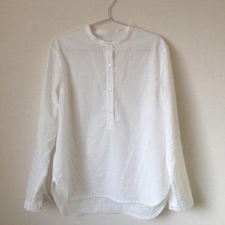 sawa-ri スタンドカラーシャツ