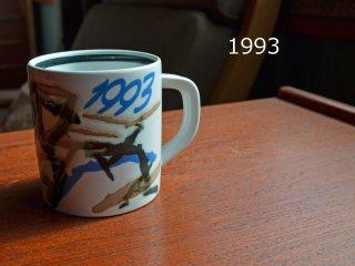 【SOLD OUT】1993 Royal Copenhagen year mug <br>1993 ロイヤルコペンハーゲン イヤーマグ
