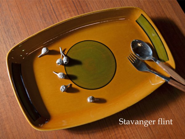 【SOLD OUT】:Stavanger flint /  party plate<br>スタヴァンゲルフリント 大皿
