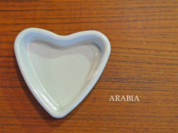 ARABIA / Heart tray<br>アラビア / ハートトレイ