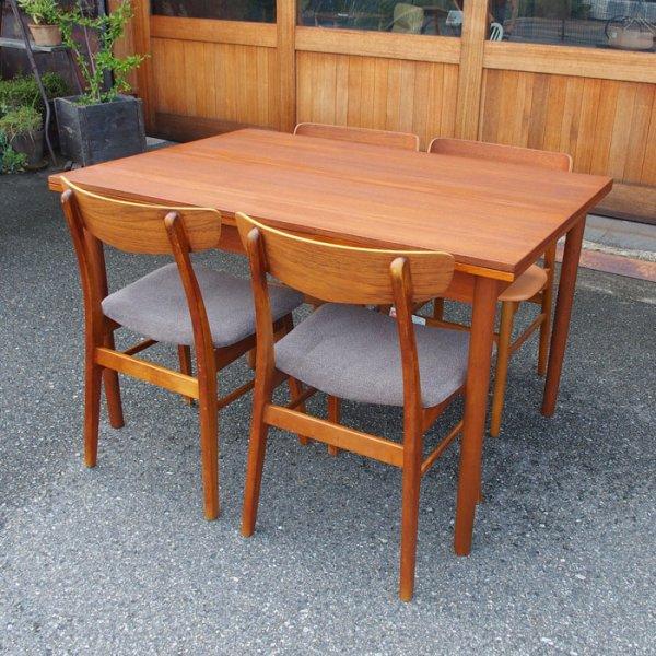 当店通常価格¥148,500→¥107,800 約30%OFF Teak Rectangle Dining Table